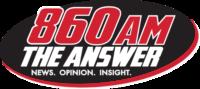 860AM The Answer logo